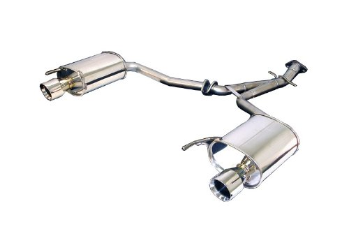 - Tanabe T70113A Medalion Touring Cat-Back Dual Muffler Rear Section Exhaust System for Lexus IS250 2WD/AWD/350 2006-2009