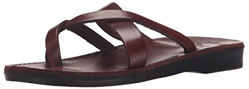 Abigail Slide Jerusalem Sandal Sandals Brown Women q161xRwE