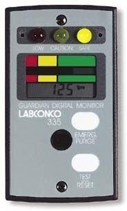 Labconco 9743201 Guardian Digital Airflow Monitor for Fib...