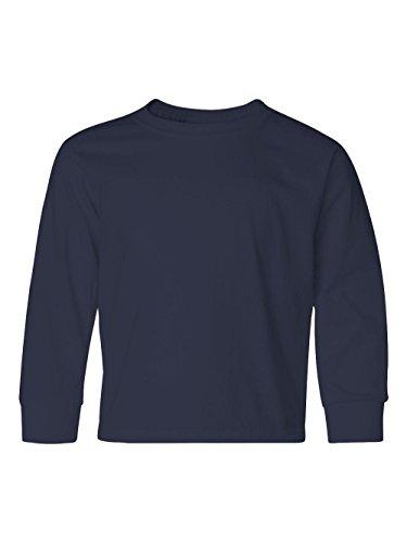 JERZEES 29BLR - Heavyweight Blend 50/50 Youth Long Sleeve T-Shirt (Jerzees Heavyweight Youth Blend)