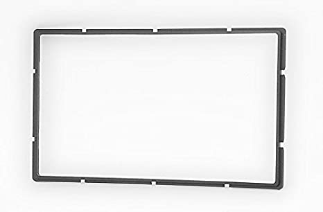 CARAV 11-107 2-DIN car head unit fascia facia installation dash kit for Universal gray