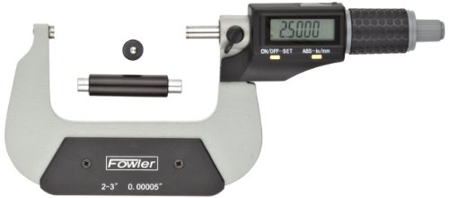 ra-Value II Electronic Micrometer with Grey Enamel Finish, 2-3