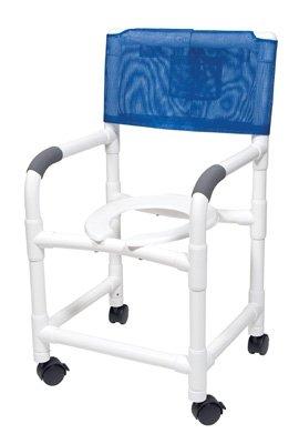 GrahamフィールドLumex 18インチPVCシャワーCommode椅子   B0096B3Y6Q