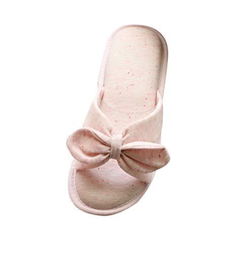 Style Japonais Pantoufles Ctooo Chic Chaussons Rose Femmes Antidérapantes H7n7txZ