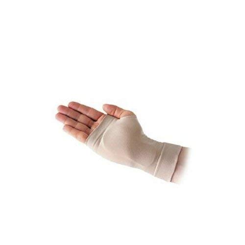 Silipos 14115 Carpel Gel Sleeve - [Left], Small Hypoallergenic Compression Tube with Medical Grade Mineral Oil Gel. Arm & Ankle Supports
