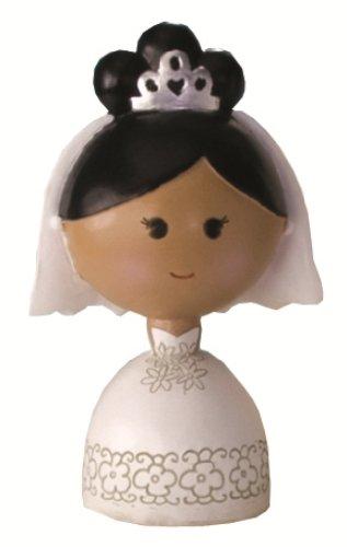 Ivy Lane Design Wedding Accessories Kokeshi Doll, Black B...