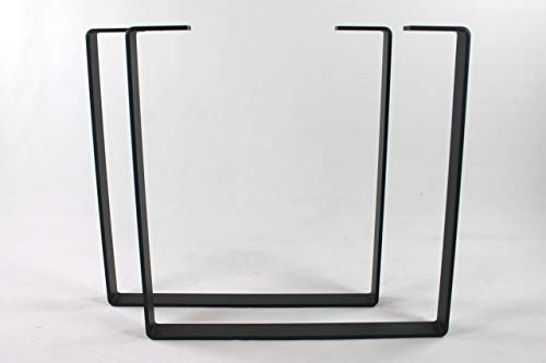 Powdercoated Steel Dining Table Legs-Choose Your Height and Width