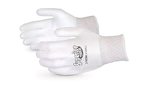 13 Gauge Thickness Superior S13SXP Dyneema Superior Touch Glove Work Pack of 1 Pair X-Large White Cut Resistant