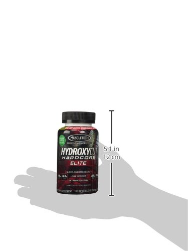 Hydroxycut Hardcore Elite-Svetol Green Coffee Bean Extract Formula, 100ct, Pack Of Three by MuscleTech (Image #5)