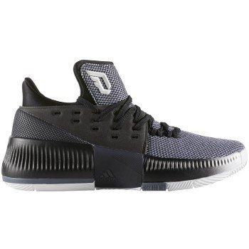 Price comparison product image Adidas Dame 3 Shoe Junior's Basketball 5 White-Core Black-Onix