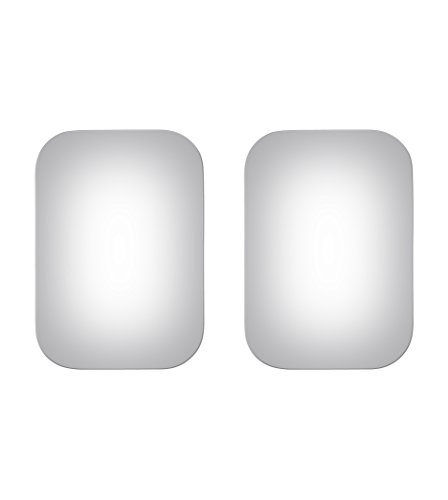 Burco Left & Right Mirror Glass for Pickup, Suburban, Van, Ram, Econoline
