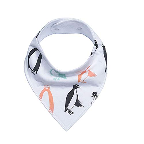 s Accessories Newborn Girls Burp Cotton Soft Toddler Triangle Scarf Infant Saliva Towel,Kd0062 ()