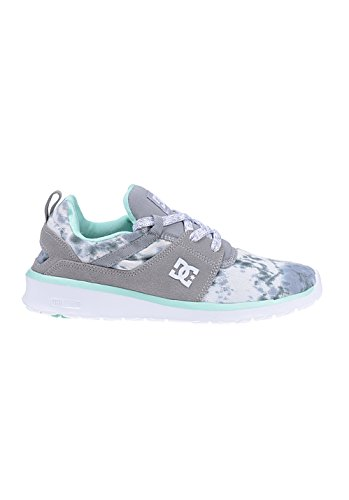 Low Heathrow Donna top Sneaker Dc Feather Grey Shoes J Camo Se Gris a5IOw