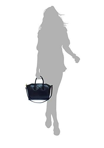 main Superflybags Fabriqué Italie Sac Lissé en véritable à cuir Rouge Rebecca Model en zrExwrfq