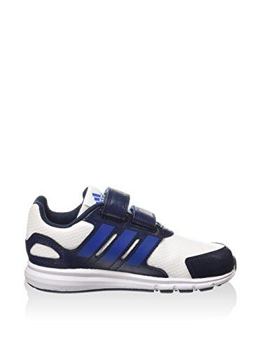 Adidas Lk Sport Cf I unisex bambino, pelle liscia, sneaker bassa
