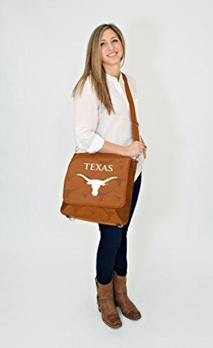 Bolso Hombresajero De Lil Fan Big 12 Teams (universidad De Baylor) Longhorns De Texas College
