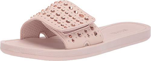 (Michael Michael Kors Women's Studded Slide (10M, Pink))