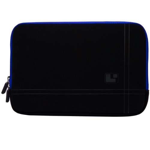 Blue Trim SumacLife Microsuede Laptop Sleeve w/ Neo Bubble Padding for Acer Aspire V5 Series 15.6-inch Ultrabook Laptops + Sumac