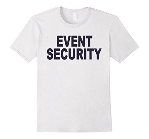 Color Guard Costumes Uniforms (Mens Event Security T-shirt Fashion Guards Uniform Unisex Top Tee XL White)