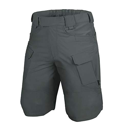- Helikon-Tex OTK Shorts Shadow Grey VersaStretch Lite Waist 32 Length 11, Outback Line Outdoor Tactical Shorts