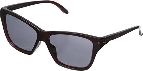 Oakley Women's Hold On OO9298-04 Non-Polarized Iridium Cateye Sunglasses, Frosted Rhone, 58 - Sunglasses Womens Oakley