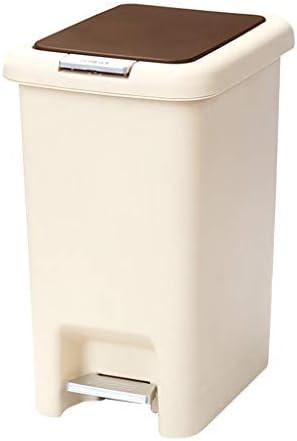 ゴミ袋 ゴミ箱用アクセサリ ふたの分類のゴミ箱が付いている現代様式の世帯は台所浴室のトイレのゴミ箱の キッチンゴミ箱 (サイズ : 40cm-15L)