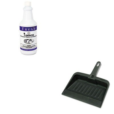 KITFPI1232TNCTRCP2005CHA - Value Kit - Fresh Products Terminator Deodorizer All-Purpose Cleaner (FPI1232TNCT) and Rubbermaid-Chrome Heavy Duty Dust Pan (RCP2005CHA) (Terminator Cleaner Purpose Deodorizer All)