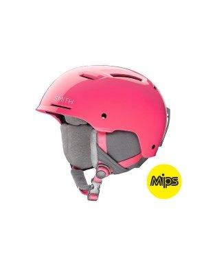 Smith Optics Pivot Jr-MIPS Youth Ski Snowmobile Helmet - Crazy Pink/Youth Small
