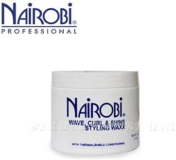 Amazon Com Nairobi Curl And Shine Styling Wax For Unisex 4 Ounce Hair Care Styling Products Everything Else