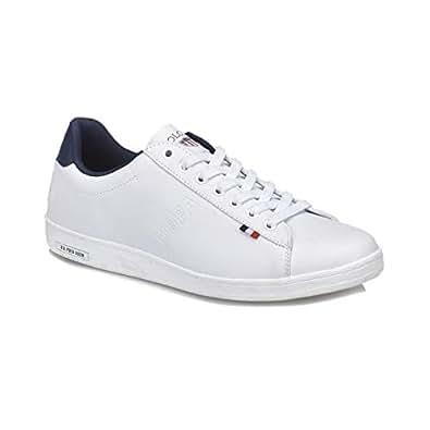 U.S. Polo Assn. Erkek Franco Spor Ayakkabı, Beyaz, 40 Numara