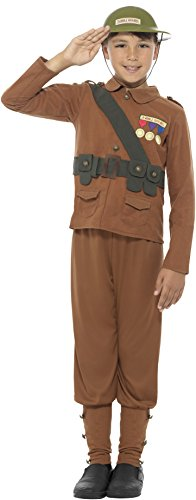 Large Boys Horrible Histories Soldier Costume