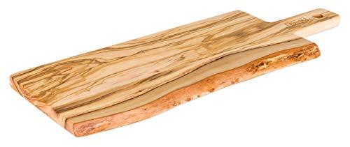Viking 40485-4735C Olive Wood Cutting & Serving Paddle Board, Large