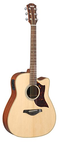 Yamaha A-Series A1R Cutaway Acoustic-Electric Guitar with Case, Vintage Sunburst