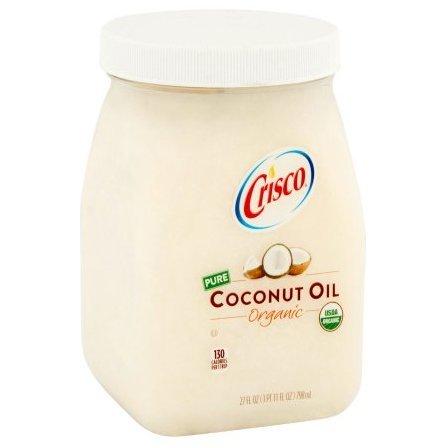 Crisco Organic Refined Coconut Oil, 27.0 FL OZ (1 Jar)