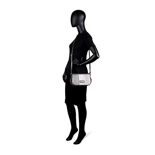 Y Con Mujer Estampado Interior Solapa Bolso Delante Color Forro Bolsillo Piel 95815 Lois Bandolera Metal Cremallera Sintética De Polipiel vq7H0xnX