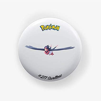 Swellow #277 : Pokemon Go, Pinback Button Badge 1.50 Inch (38mm ...