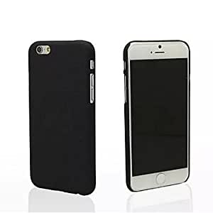 ZXSPACE PC Back Cover Case for iPhone 6 Plus (Assorted color) , Black