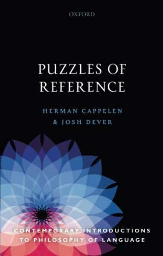 Puzzles of Reference (Contemporary Introductions to Philosophy of Language) by Oxford University Press