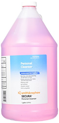 (Smith & Nephew Secura Personal Cleanser Bottle)