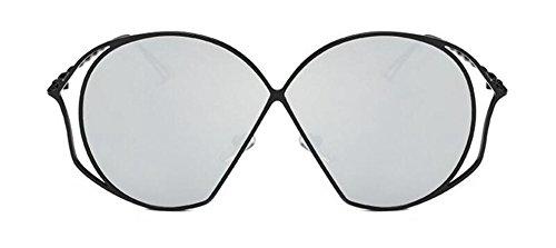 retro Lennon cercle style Comprimés Mercure soleil lunettes de en vintage polarisées de métallique inspirées du rond TqxFawH