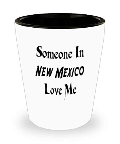 - White Ceramic Shot Glass Mug Custom Home State Mug Custom New Mexico Mug Custom State Mug Going Away Gift State Mugs Moving Away State Gift Someone Lo