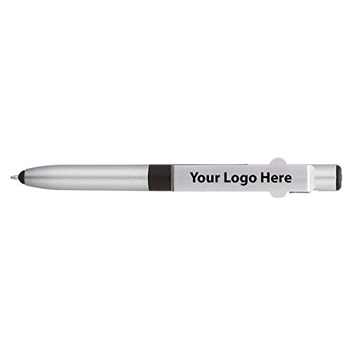 4-in-1 Fine Writing Instruments Engraved Pen / LED / Phone Stand / Stylus - 250 Quantity - $1.85 Each - PROMOTIONAL PRODUCT / BULK / BRANDED with YOUR LOGO / CUSTOMIZED by Sunrise Identity