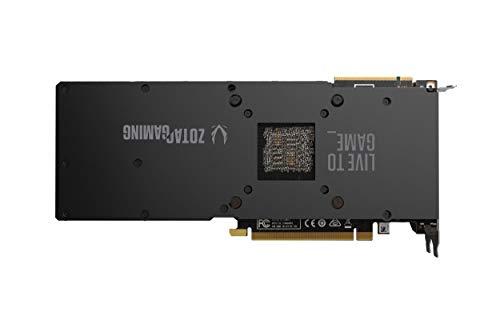 ZOTAC Gaming GeForce RTX 2080 Ti Blower 11GB GDDR6 352-bit Gaming Graphics Card, Metal Backplate, ZT-T20810A-10P
