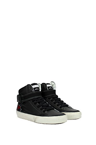 STHDVL03 Philippe Model Sneakers Mujer Piel Negro Negro