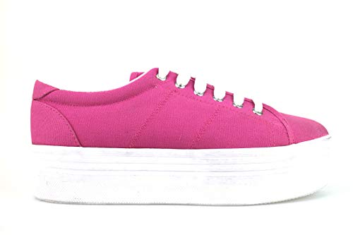 Textil Jeffrey Sneakers Mujer Campbell Rosa TwtwS1q