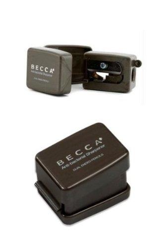 Becca Dual Point Anti Bacterial Slim Pencil Sharpener - -