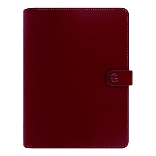 A5 Filofax (Filofax The Original A5 Organizer, Leather, Pillarbox Red, Paper Size 8.25 x 5.75 inches (C022381))