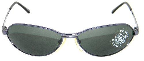 Amazon.com: Vuarnet Mens 158 PX3000 Charcoal Grey Frame ...