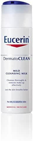 Eucerin DermatoCLEAN Mild Cleansing Milk For Dry Sensitive Skin 200ml