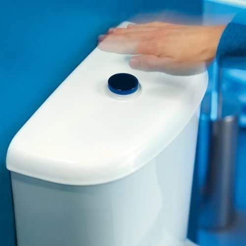 Jollytronic Wirquin No Touch 100% Hygienic Hands Free Infrared Close Coupled Toilet Cistern Complete Fitting Kit Bottom Supply